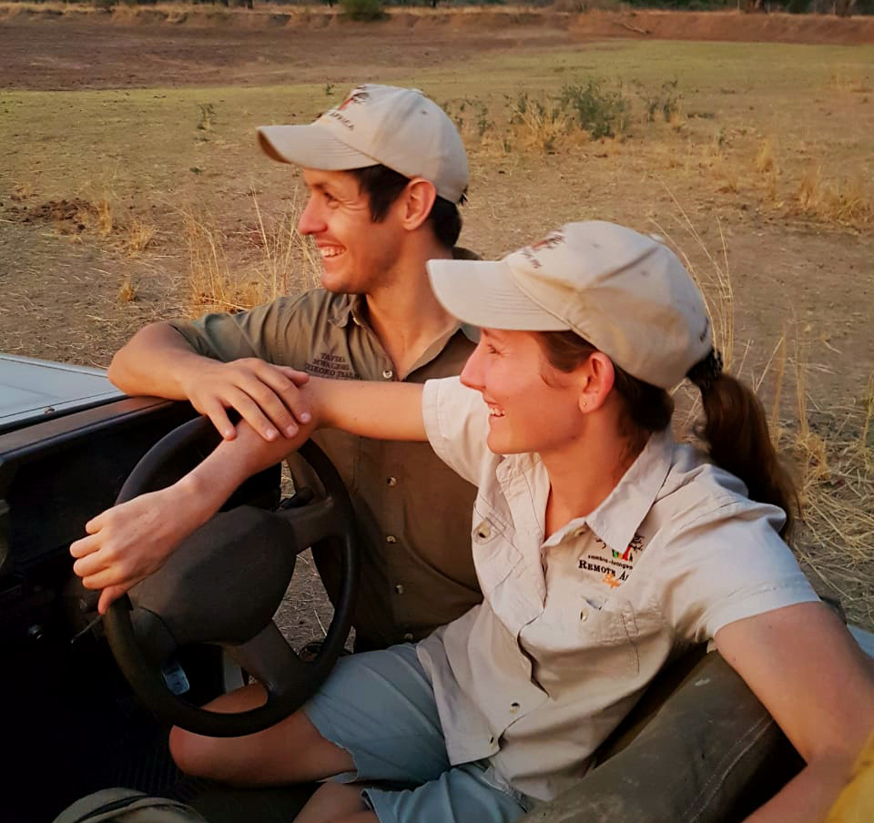 John and Carol's daughter, Jennifer, and her partner, Nick, return to the Luangwa to join the team.