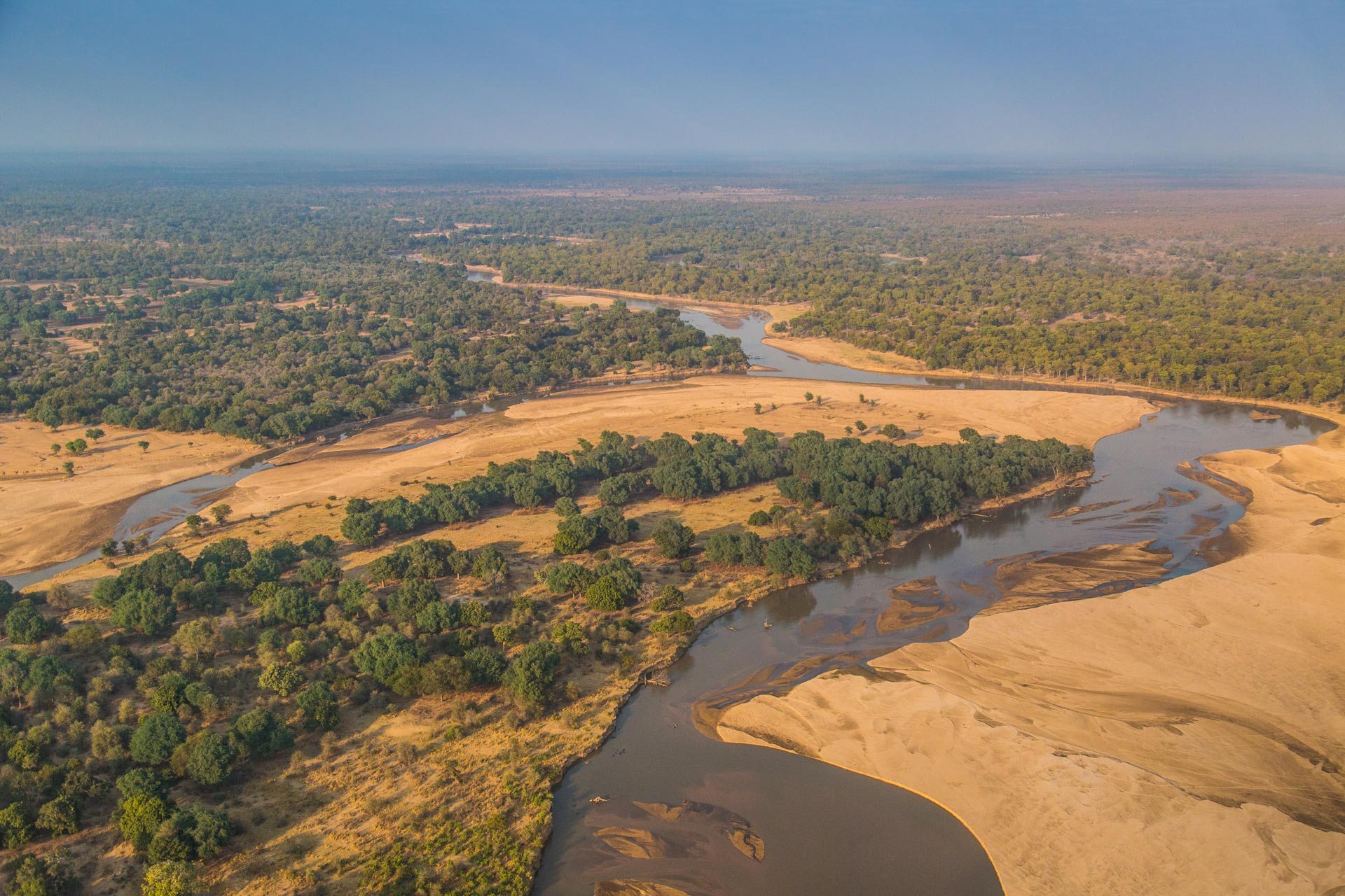 The Luangwa Valley, an extension of the Great East African Rift Valley, is the honey-pot of Zambia